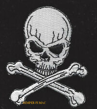 SKULL N CROSS BONES PIRATE HAT PATCH US ARMY MARINES NAVY AIR FORCE USCG GIFT