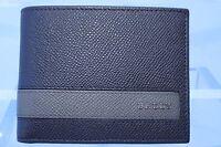 New Bally Men's Wallet Brown Credit Card Case CC Holder