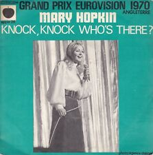 Mary Hopkin Knock, Knock Who's There? / I'm Going To Fall In Love France 45 W/PS