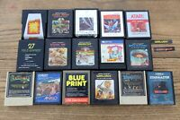 LOT OF Atari 2600 Game Cartridges Coleco Warlords Street Racer Space Invaders