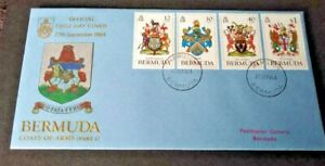 Bermuda 1984 Coats of Arms (part 2) First Day Cover