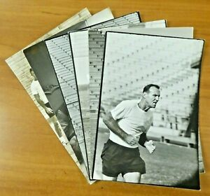 6 Original 1960 AFI Houston Oilers Spports Illustrated Photos 9x13