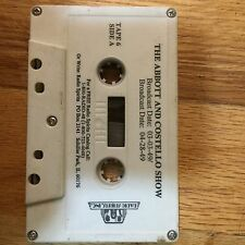 The Abbot and Costello show Tape 6d Cassette Tape