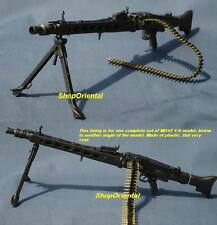 DRAGON 1:6 Scale Action Figure WW2 GERMAN ARMY MG-42 MACHINE GUN + BULLET MG42