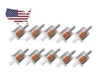 "5/16"" Small Engine Fuel Filter Lawn Mower Generator Briggs Kawasaki 10 Pack"