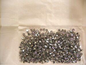 140 preciosa bicone crystal beads,5mm vitrail light
