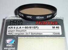 Hoya KR6 / 81EF HMC  46mm