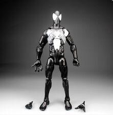 "Marvel Legends Infinite Series Symbiote Black Spiderman 6"" Loose Action Figure"