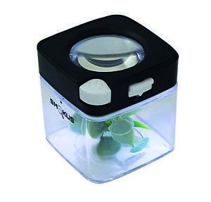 Smokus Focus Comet Storage Jar | Magnifying Glass | LED Lights | Stash Jar