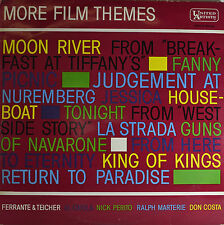 "OST - MORE PELÍCULA TEMAS - MOON RIVER - LA STRADA - KING OF KINGS 12"" LP (Q745)"