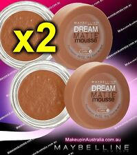 Maybelline Dream Matte Mousse Cocoa Dark 3 (set of 2 NEW)