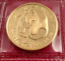 1985 CHINA 100 YUAN 999. 1 OZ GOLD PANDA COIN MINT SEALED