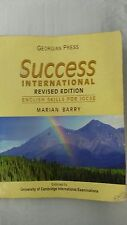 Success International: English Skills for IGCSE by Marian Barry