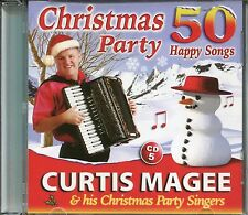 CURTIS MAGEE & HIS XMAS PARTY SINGERS, CHRISTMAS PARTY 50 HAPPY SONGS CD