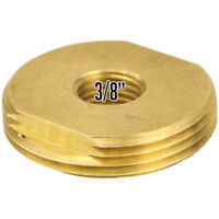 """Rugged Radios NMO-NUT-3/8 3/8"""" Inch Brass NMO Antenna Replacement Mounting Nut"""