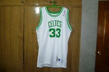 Boston Celtics Champion NBA Jersey #33 Larry Bird Basketball 1985-1986 Size 2XL