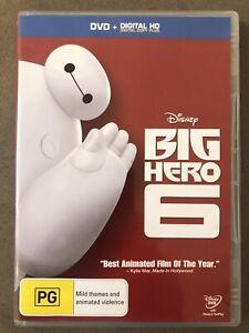 Big Hero 6 DVD (PG Rating)