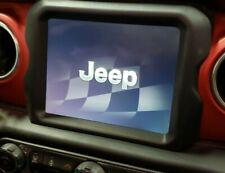 "NEW 2018-2020 Jeep Wrangler JL,Gladiator JT 8.4"" Radio Trim Bezel Surround,OEM"