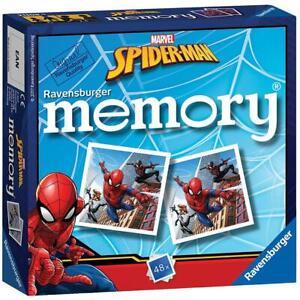 Marvel Spider-Man Ravensburger Memory game Puzzle toys games playset