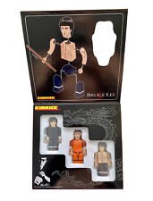 Bruce Lee Kubrick 100% Figure Set 3pcs Medicom Toys Japan Bearbrick Be@rbrick