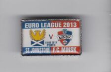 St Johnstone v FC Minsk -  lapel badge brooch fitting