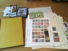 Nice Worldwide Stamp Collection With Many Early Stamps From China & Korea. Look!