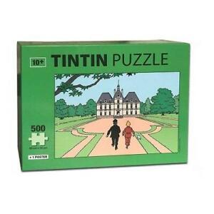 TINTIN 500 Piece Jigsaw - Marlinspike Hall - 50 x 34cm