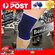 1pc Soft Elastic Breathable Support Brace Knee Protector Pad Sports Bandage AU