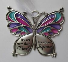 h You are more than a friend inspiration BUTTERFLY WISHES Ornament ganz car char