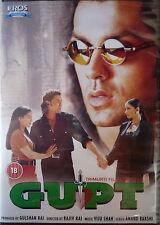 GUPT - ORIGINAL EROS BOLLYWOOD DVD - Bobby Deol, Kajol, Minisha Koirala.