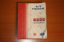 1994 Gmc S/T Truck Service Manual Chevy