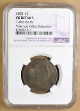 1805 Draped Bust Large Cent NGC VG Details