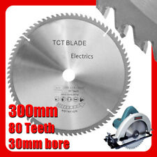 300mm  80T High-speed steel Silver TCT Circular Saw Blade Cutter for 305mm Saws