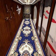 Arabesque Floral Corridor Mat Flannel Non-slip Bedroom Rugs Area Corridor Carpet
