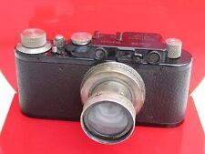 "Leica IID DII black paint camera with 5cm f:2 Nickel Summer lens NICE ""LQQK"""