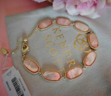 Kendra Scott Millie Peach Mother of Pearl Bracelet NWT