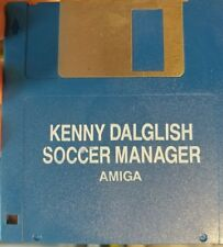 Kenny Dalglish Soccer Manager Commodore Amiga (Disc) Works