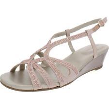 Bandolino para mujer Gyala Metálico Adornado Con Cuñas Zapatos BHFO 9992