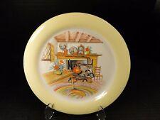 Homer Laughlin Swing Eggshell Yellow Border COLONIAL KITCHEN Bread Plate (sau70)