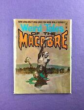 Weird Tales of The Macabre #1 (1975): Atlas/ Seaboard!  Jeff Jones Cover! VG/FN!