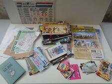 GI JOE BELGIAN CATALOG FOLDER PAPER BOOKLET FLYER FAN CLUB MAIL AWAY FR/NL