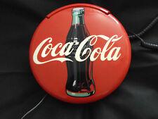 Coca Cola Telefon mit Licht und Sound zum Stellen oder für die Wand siehe Fotos