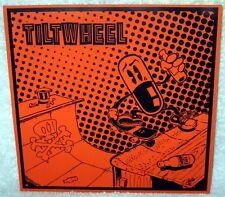 """TILTWHEEL The Heavens Declare The Glory 7"""" EP PUNK ROCK Reissue BLACK VINYL OOP"""