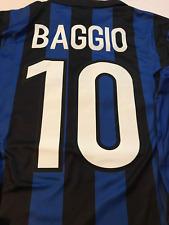 Inter Milan jersey 1998 1999 roberto baggio shirt long sleeve ucl model playera
