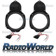 """VW Passat B6 & CC Speaker Adaptor Rings Front Door 6.5"""" 165mm SAK-3112 CT25VW06"""
