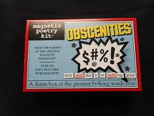 New OBSCENITIES Magnetic Poetry Kit
