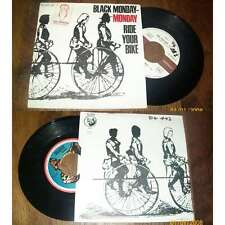 "BLACK MONDAY Ride your bike 70s HEAVY FUNK French 7"" PS Galloway records"