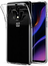 Cover case soft silicone gel tpu transparent for oneplus 7
