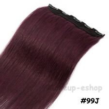 One Piece Real Clip in Remy Human Hair Extensions Full Head EP Highlight US