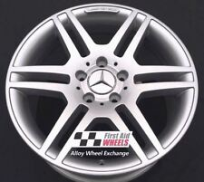 "R139SS YOURS 4 Ours MERCEDES C-CLASS W204 AMG 4X 17"" GENUINE SILVER ALLOY WHEELS"